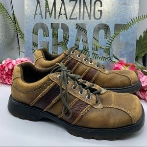 Bed Stud Sz 44 Brown Lace Ups Oxford